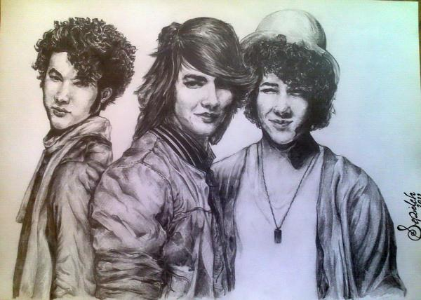 Jonas Brothers by 3pde